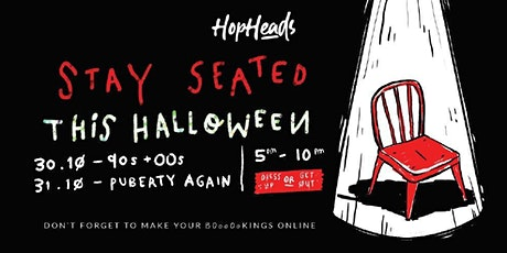 SATURDAY Puberty Again Halloween tickets