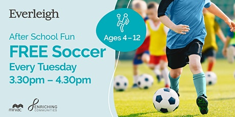 Kids Soccer - After School Fun! 4yrs old - 8yrs old tickets