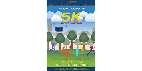 DLR Chamber's 5k for the Peter McVerry Trust! tickets