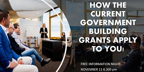 First Home Buyers and Building Grants  FREE Information Session tickets