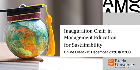 Inaugural Speech Chair in Management Education for Sustainability tickets
