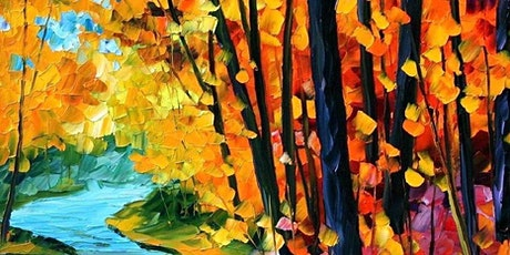 Paint & Relax: Abstract Forest tickets
