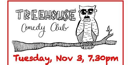 TreeHouse Comedy @ The Walnut Tree Shades - Nov 3 tickets