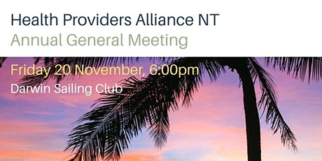 Health Providers Alliance NT Annual General Meeting tickets