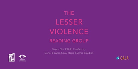 Lesser Violence Reading Group with Maneo Mohale | 4 November 2020 tickets