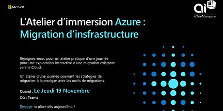 [Workshop] - Atelier d'immersion Azure tickets