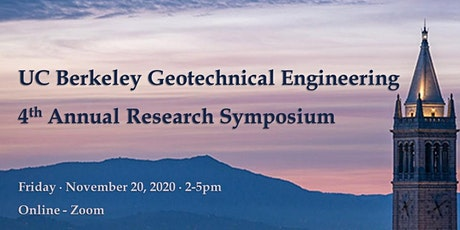 2020 UC Berkeley Geotechnical Engineering Research Symposium tickets