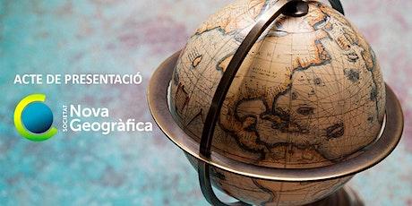 Presentació de la Societat Nova Geogràfica de Catalunya entradas