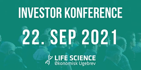 Life Science Investor Konferencer 22. september 2021 tickets