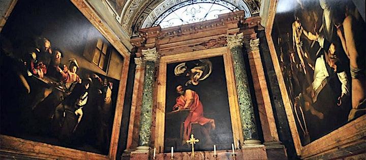 """Immagine Caravaggio a Roma """"Vita e Capolavori"""""""