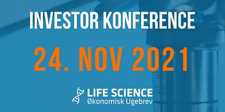 Life Science Investor Konferencer 24. november 2021 tickets