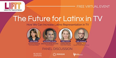 The Future For Latinx in TV tickets