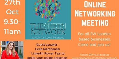 The Sheen Network: Virtual Business Networking Meeting tickets