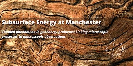 Subsurface at Manchester - Seminar by Majid Sedighi tickets