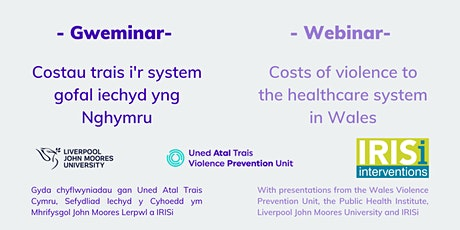 Webinar: Costs of violence to the healthcare system in Wales tickets