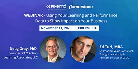 Drive Better Business Decisions with Learning and Performance Data tickets