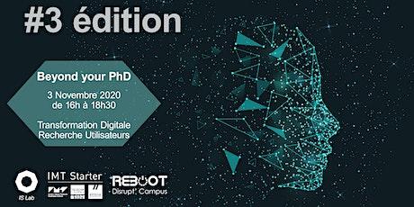 Beyond your PhD #3 : Faire de la Recherche Utilisateur (UX Research) billets
