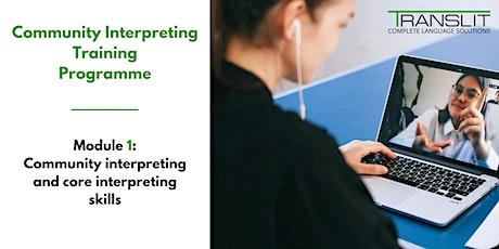 Certificate Training in Community Interpreting  (CTCI Module 1) tickets