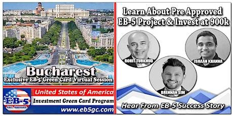 Bucharest EB-5 American Green Card Virtual Market Series tickets
