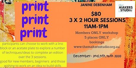 PRINT PRINT PRINT - with Janine Debenham