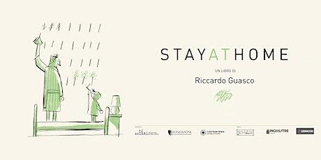 """Libro e mostra """"Stay at home"""", Riccardo Guasco con Libraccio Alessandria biglietti"""