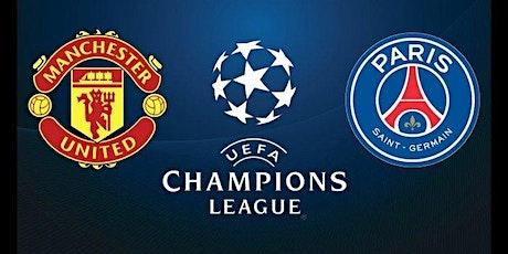LIVE@!! Paris Saint-Germain- Manchester United E.n direct Live tv billets