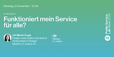Public Service Lab Week 2020 – Dienstag, 10. November Tickets