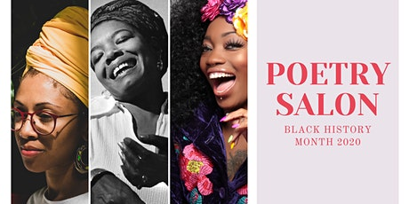 Black History Month Poetry Salon tickets