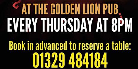 The Golden Lion Pub Quiz tickets