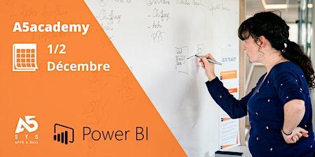 A5academy - Montez en compétence avec Power BI Designer billets