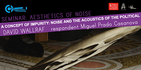 Aesthetics of Noise: David Wallraf tickets