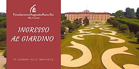Villa Arconati: apertura giardino 2020 tickets