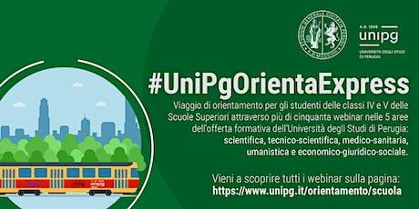 #UnipgOrientaExpress - La chimica dei nanomateriali biglietti