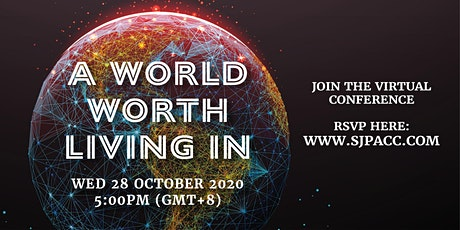 A World Worth Living In tickets