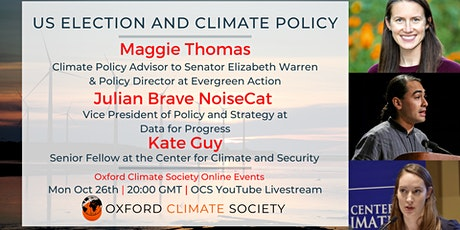 US Election and Climate Policy tickets