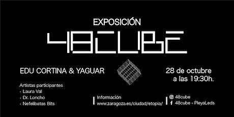 Actuaciones en 48CUBE, Laura Val, Dr. Loncho y Nefelibatas Bits. entradas