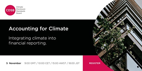 Webinar: Accounting for climate tickets