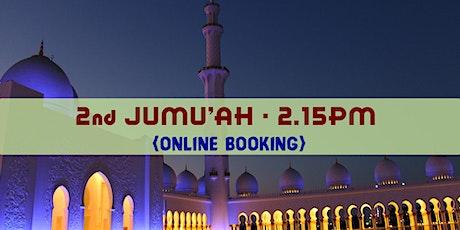 2nd Jumu'ah Prayer 2:00PM  16th October  English  Ustadh Mohamed Nizamdeen tickets