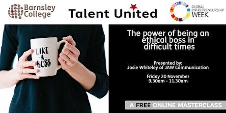 Talent United Masterclass: JAW Communications tickets