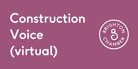 Construction Voice: What does the future hold for commercial development? tickets