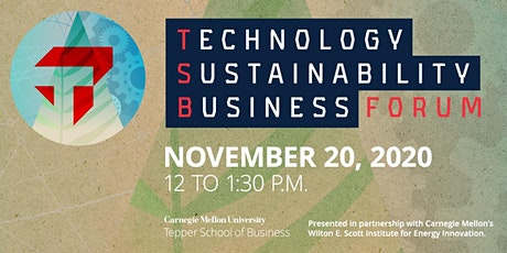 Technology, Sustainability, and Business Forum tickets