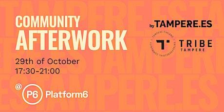 Community Afterwork tickets