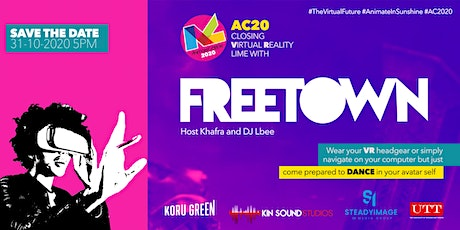 AC20 Closing Virtual Lime with Freetown Collective tickets