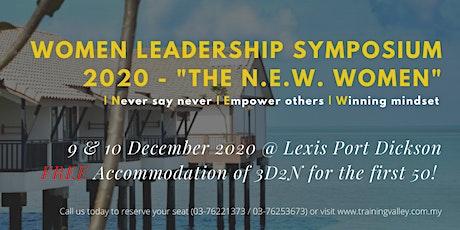 Women Leadership Symposium 2020 - The N.E.W Women - tickets