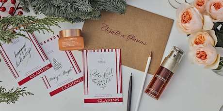 Clarins x Eterate Calligraphy – Christmas Calligraphy Tasting Workshop tickets