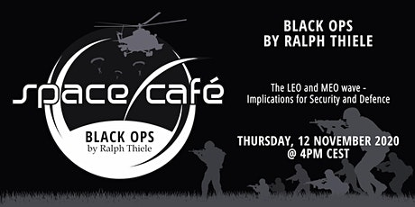 "Space Café  -  ""Black Ops by Ralph Thiele"" #1 tickets"