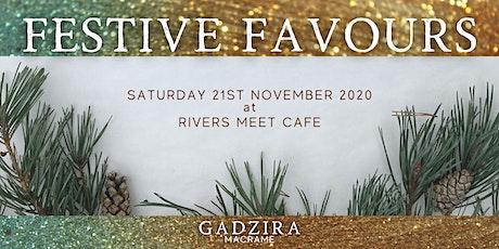 FESTIVE FAVOURS - A macrame workshop by GADZIRA MACRAME tickets