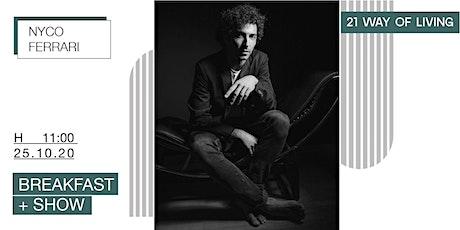 Breakfast + show | Nyco Ferrari Jazz Trio tickets