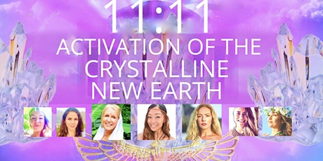 11:11 AGE OF LIGHT- ACTIVATION OF THE CRYSTALLINE NEW EARTH- Live from Bali tickets