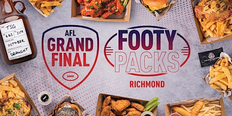 Pre-Order AFL Grand Final Footy Packs - Richmond tickets